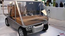 Elektroauto V+ auf dem Genfer Autosalon 2012