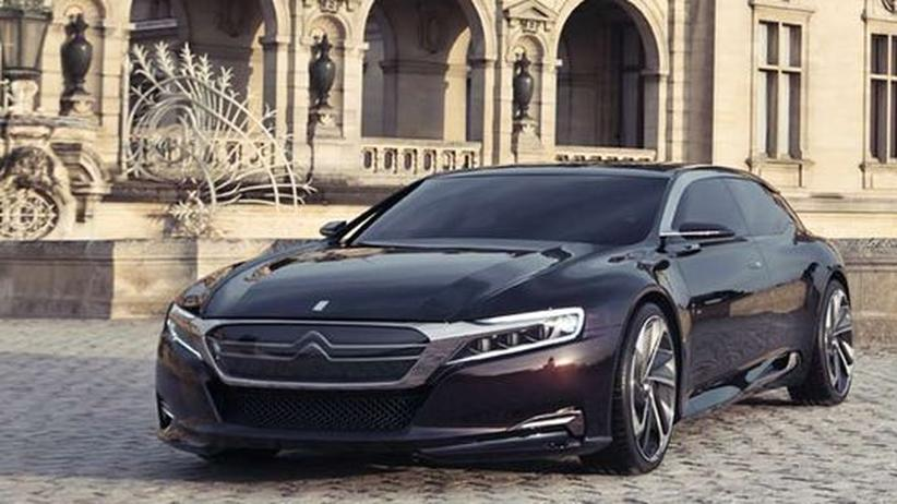 Neuvorstellung: Citroëns Öko-Oberklasse für China
