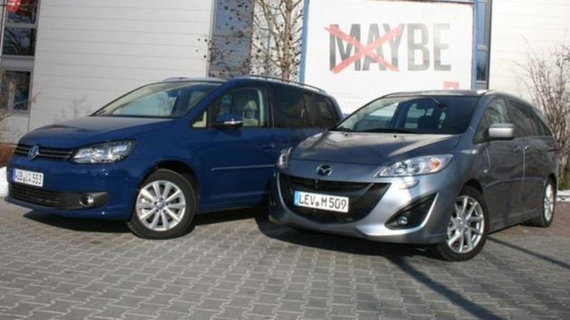 Mazda 5: Die Touran-Alternative