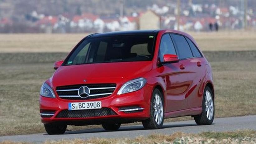 Praxistest B-Klasse: Mercedes verjüngt sein Rentner-Mobil