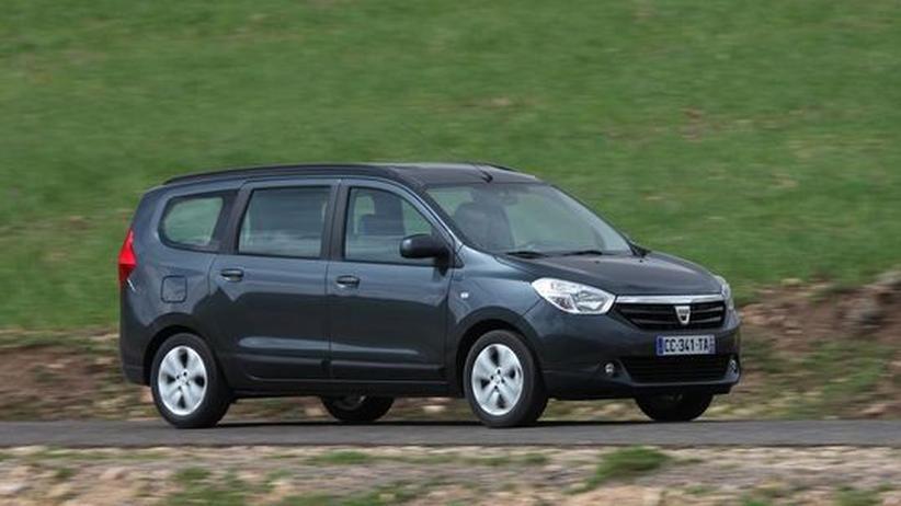Fahrbericht Dacia Lodgy: Robuster Raumriese zum kleinen Preis
