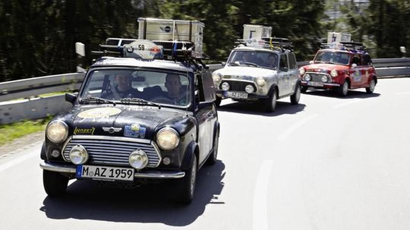 Orient-Rallye: Im Oldtimer nach Baku