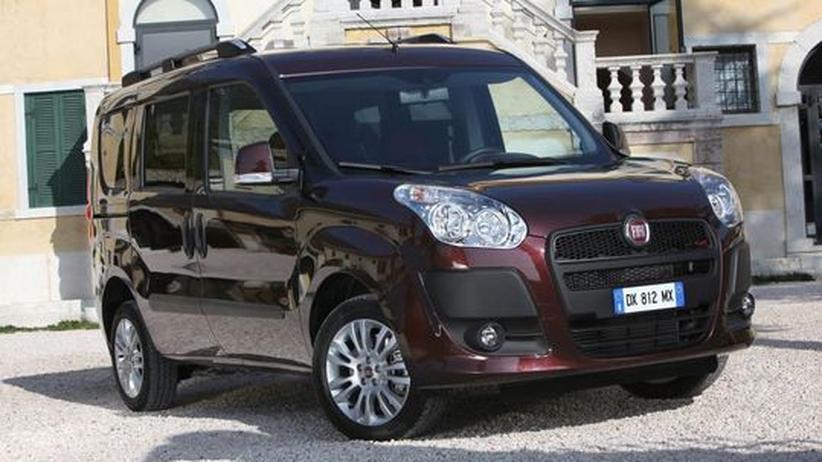Hochdach-Kombi: Fiat zündet den Doblò-Turbo