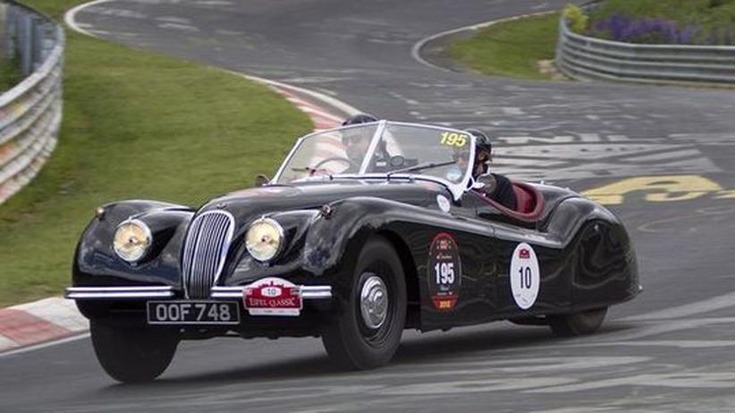 Jaguar XK 120: Einst Notlösung, heute Autolegende