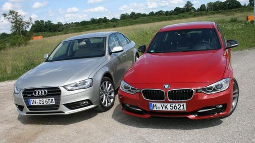 Autotest: BMW gewinnt das bayerische Mittelklasse-Derby