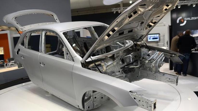 Autoindustrie: Stahl, der sich selbst repariert