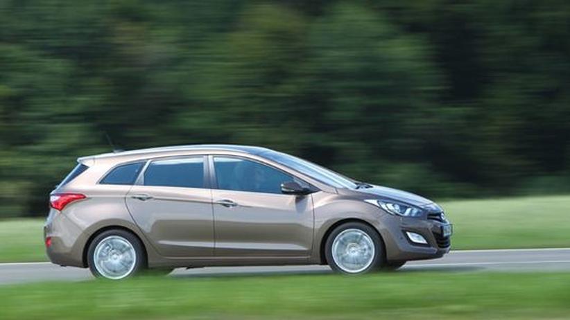 Hyundai i30 cw: Korea-Konkurrent für den Golf-Kombi