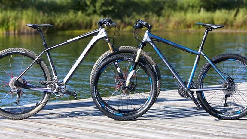Mountainbikes: Mit Übergröße rollt man besser