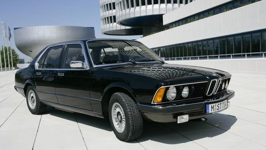 BMW 733i Als Mercedes Herausforderte