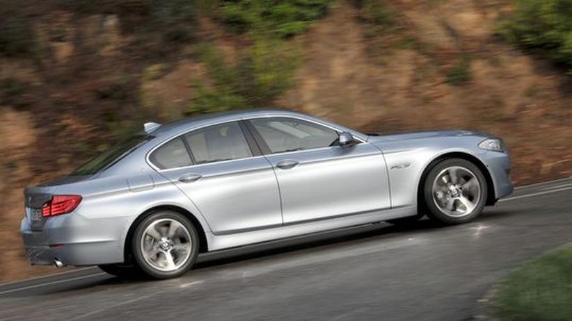 BMW ActiveHybrid: Von A nach B