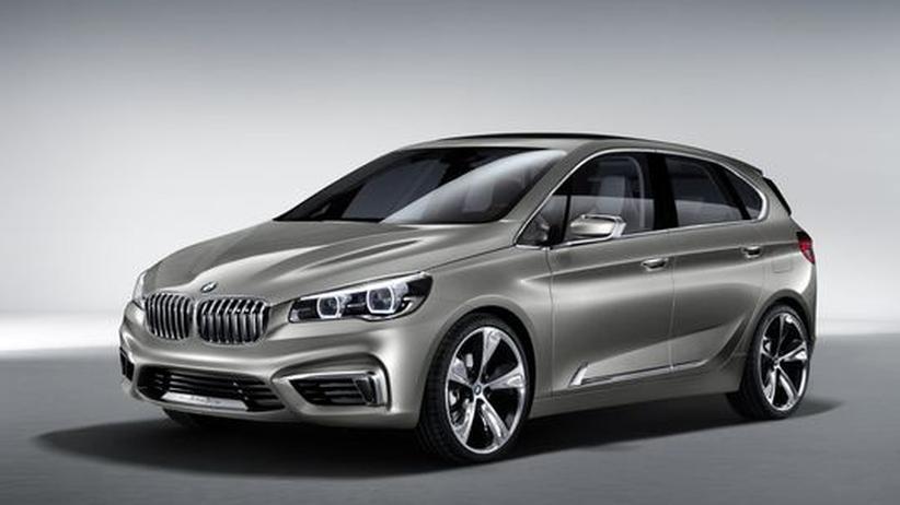 Neuvorstellung: BMW steigt spät ins Van-Geschäft ein