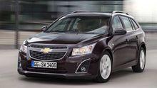 Der Chevrolet Cruze, das Schwestermodell des Opel Astra
