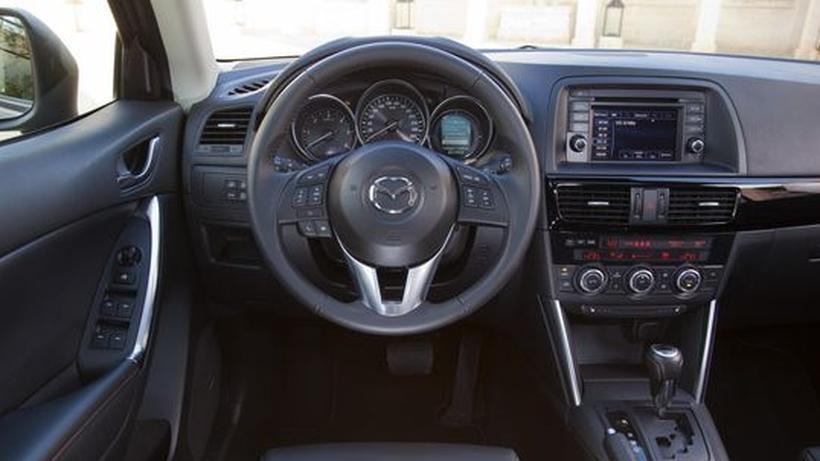 mazda cx-5: laufruhiger diesel, störende start-stopp-automatik
