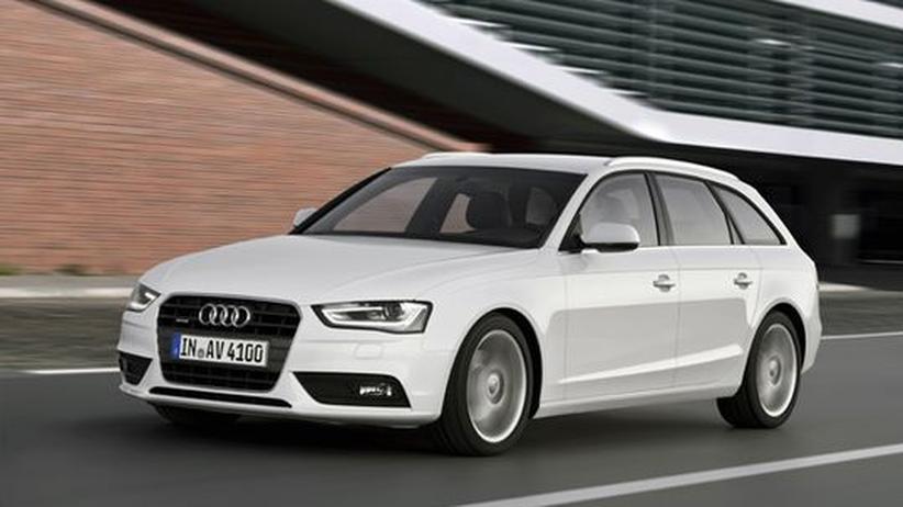 Audi A4 Avant: Von A nach B