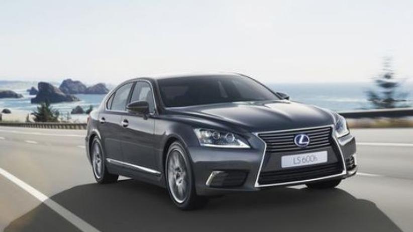 Lexus LS: In der Exoten-Limousine wartet der Klima-Concierge