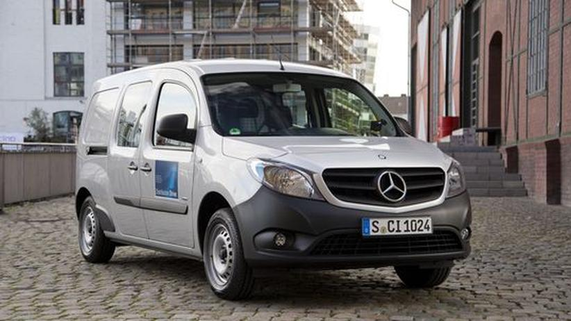 Mercedes-Benz Citan 109 CDI: Von A nach B