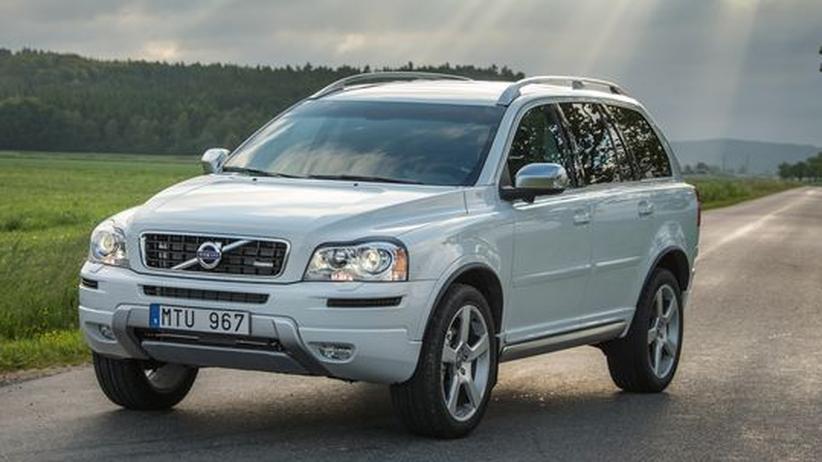 Volvo XC90: Von A nach B