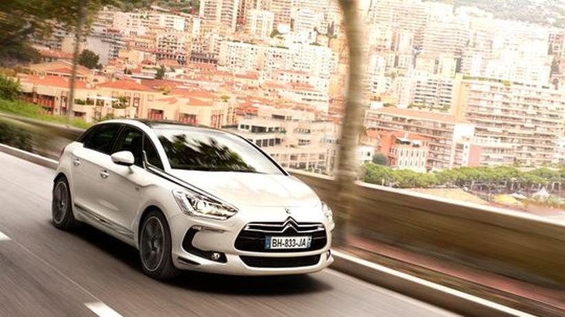 Citroën DS5: Hartes Fahrwerk unter stylisher Hülle
