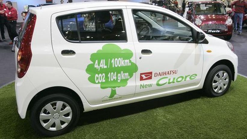Anfang 2008 stellte Daihatsu auf dem Autosalon in Brüssel noch den neuen Cuore vor. (Archivbild)