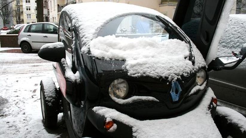 Elektromobilität: Im Twizy kommt man ohne Heizung aus