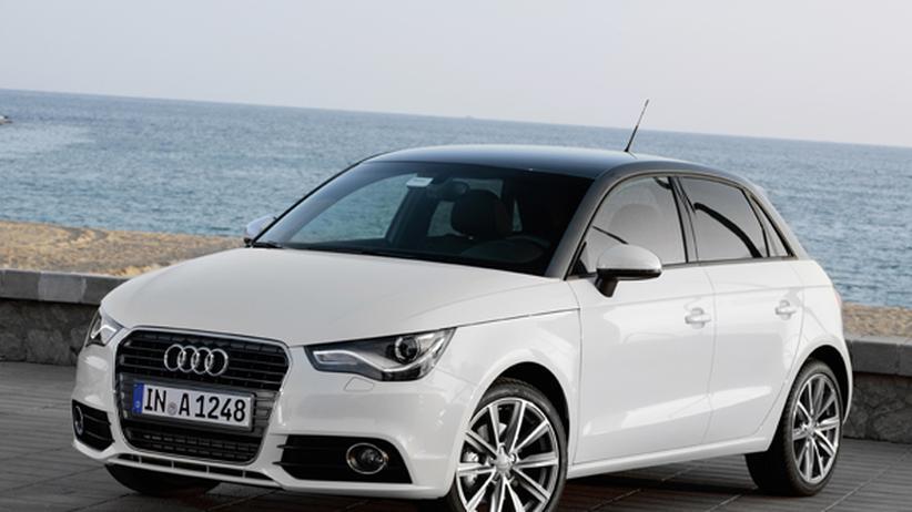 Audi A1 Sportback 2.0 TDI: Der Plan: immer geradeaus