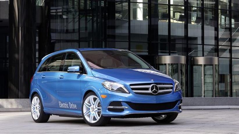 B-Klasse Electric Drive: Daimler ignoriert die Elektro-Zweifel
