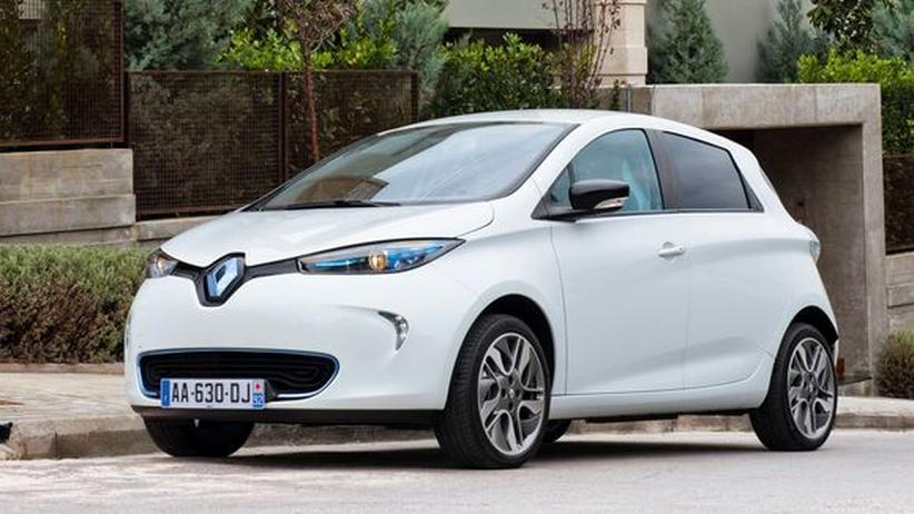 Renault Zoe: Elektroauto mit Ladehemmung