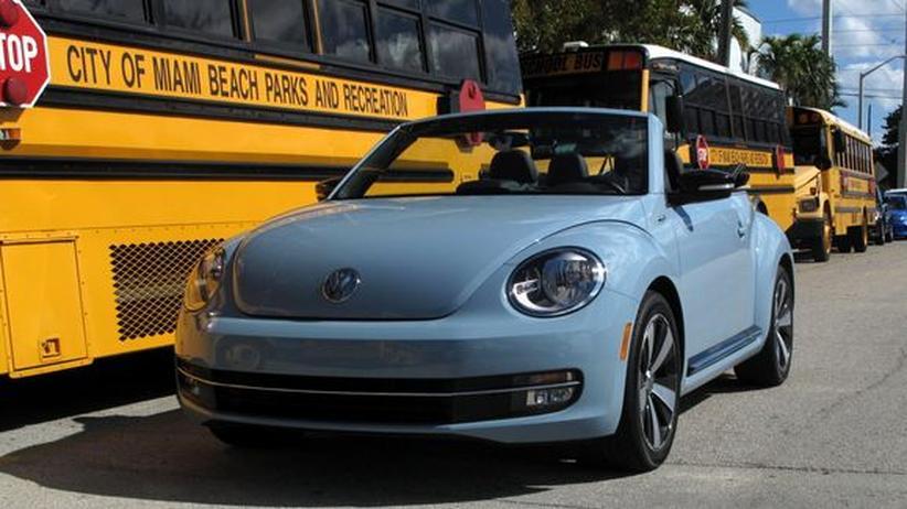 Beetle Cabrio: Wie aus der guten alten Käfer-Zeit