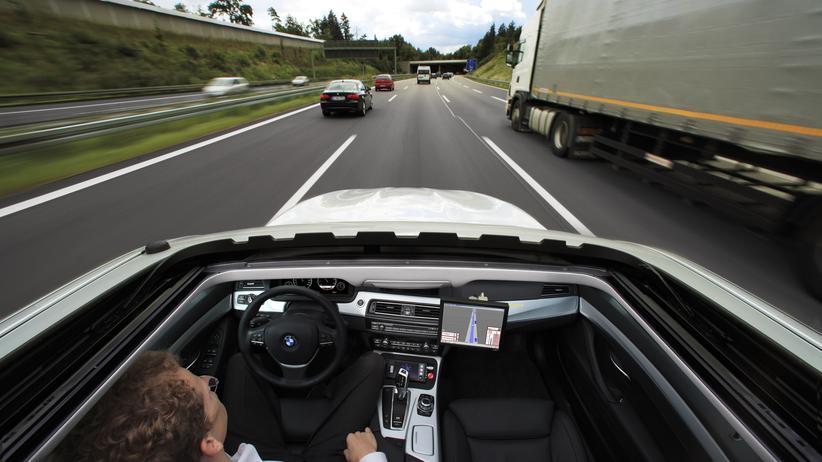 Führerlose Autos: Hände weg vom Lenkrad, ich fahre!