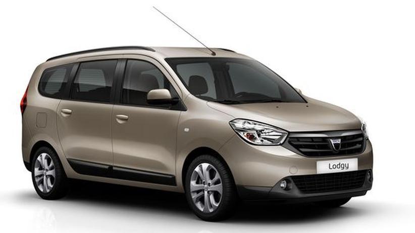 Dacia Lodgy: Von A nach B