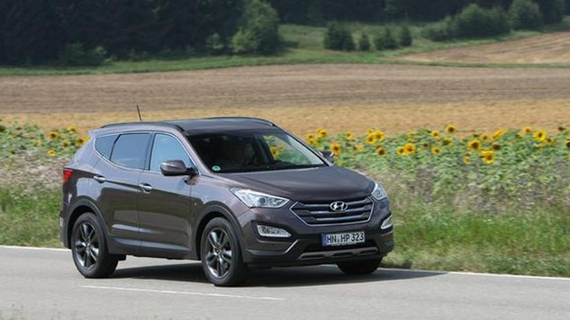 Hyundai Santa Fe: Von A nach B