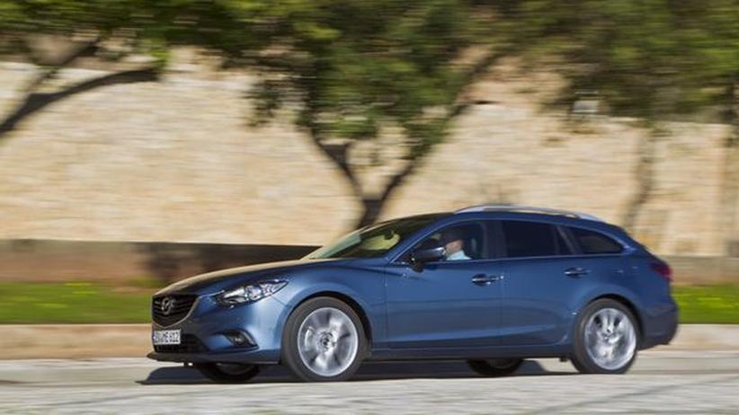 Mazda6 Kombi: Von A nach B
