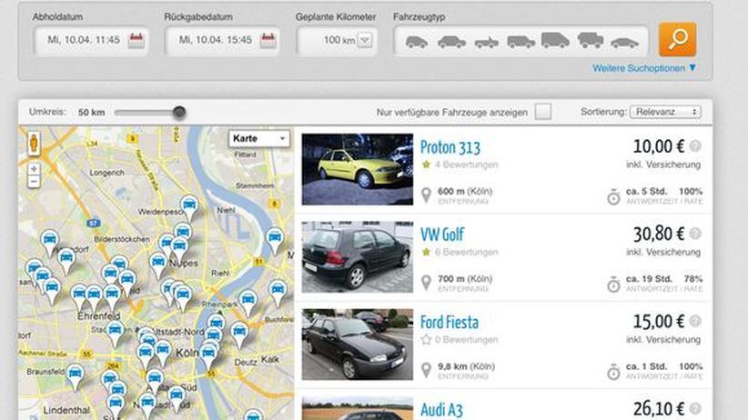 Verkehrssicherheit: Autovermieter verurteilen privates Carsharing als riskant
