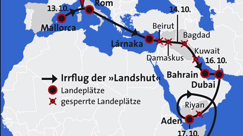 Deutscher Herbst: Der Pilot der »Landshut«