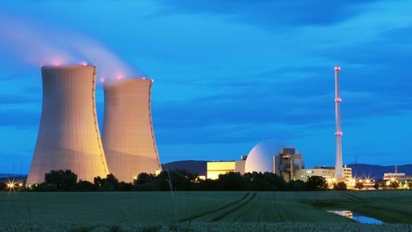 Energiepolitik: Das AKW Grohnde bei Hameln