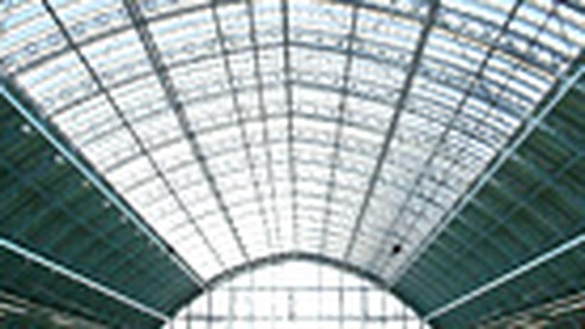 Bahnfahrt: London auf dem Landweg
