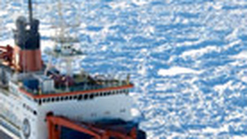 Polarforschung: Premiere im schmelzenden Eis