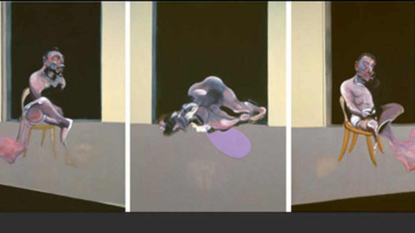 "Francis Bacon ""In Memory of George Dyer"""