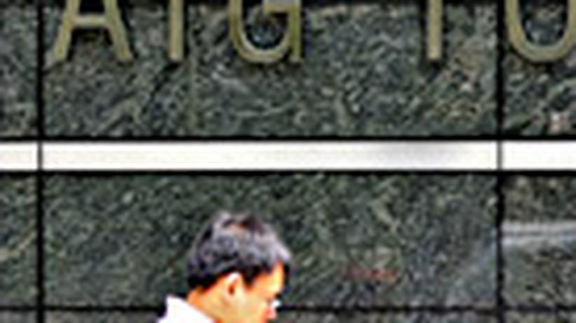 Finanzkrise : Milliardenkredit für AIG