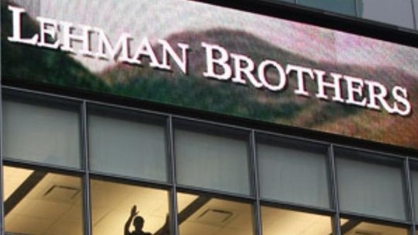 US-Bankenkrise: Das jüngste Opfer der Wall-Street-Krise: die amerikanische Investmentbank Lehman Brothers