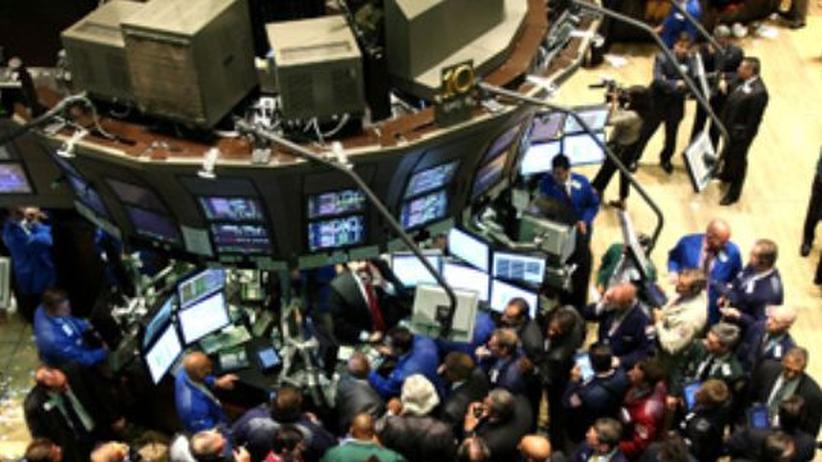 Bankenkrise: Schlechte Nachrichten?  Broker am Dienstag an der New Yorker Börse