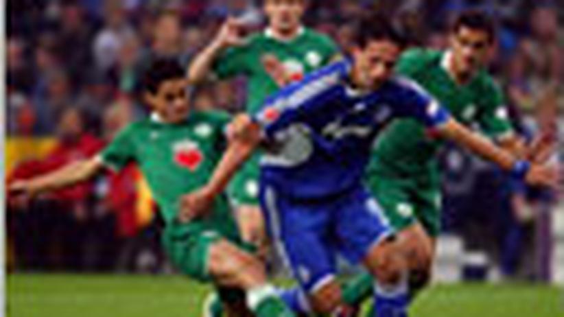 Bundesliga, 7. Spieltag: Grimassen auf dem Rasen