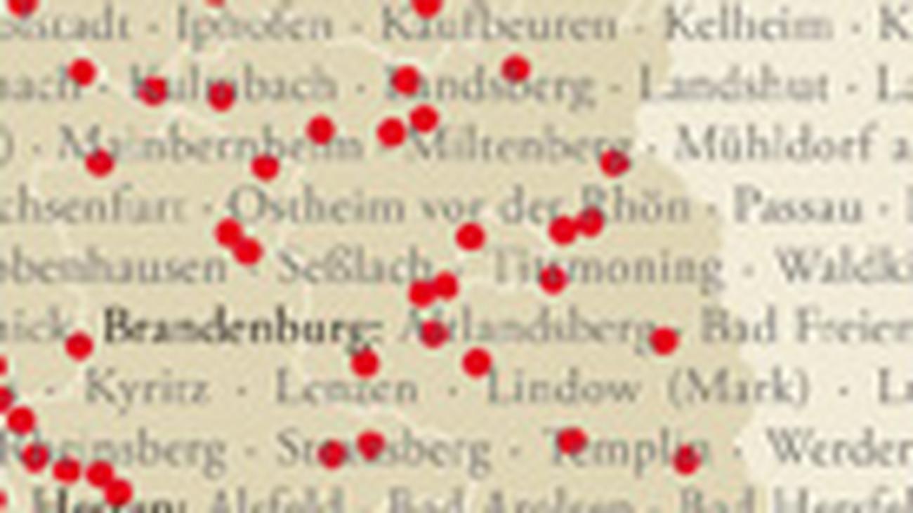 Schwäbische Alb Karte Städte.Deutschlandkarte Historische Altstädte Zeit Online