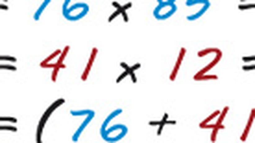 Mathematik: Das ganz große Einmaleins