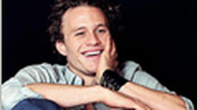 """Heath Ledger: """"Meine Filme werden weiterleben"""""""