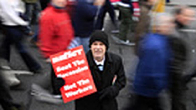 Irland: Arbeitslos und abgebrannt in Dublin