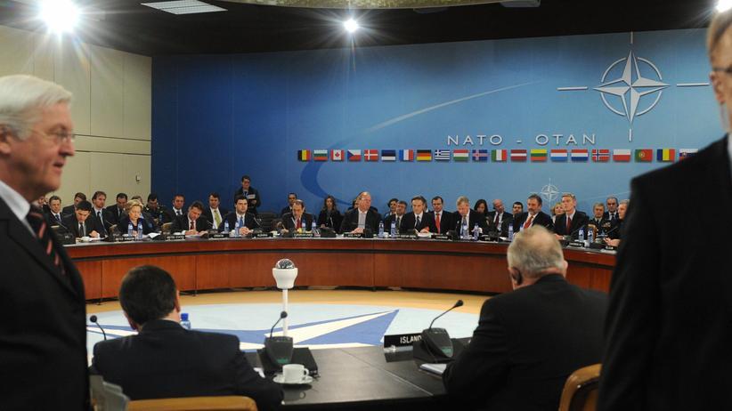 Nato: Frankreich in der ersten Reihe, ganz vorn