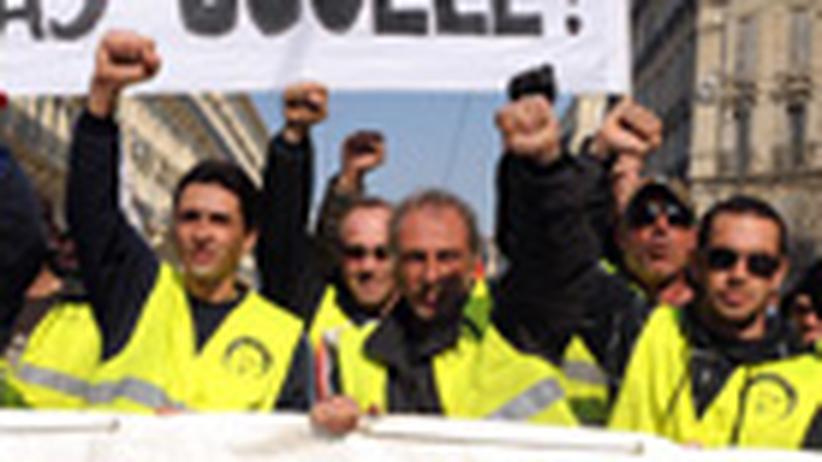 Streik in Frankreich: Sarkozys Problem