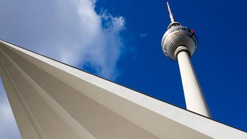 Berlin Alexanderplatz Alex Fernsehturm Großstadt Hauptstadt