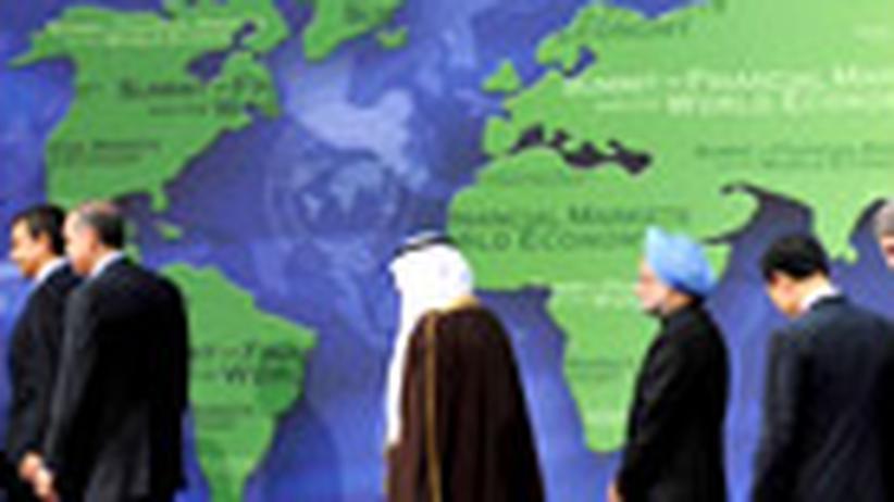Weltwirtschaft: Klotzen oder kontrollieren?